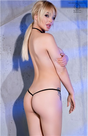 Sexy string με choker