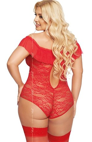 Hot Plus Size Red Body