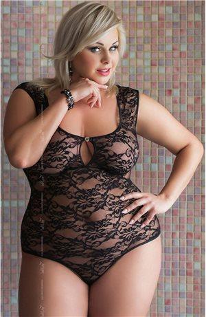 Hot Plus Size Lace Body