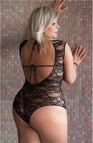 Hot Plus Size Lace Body