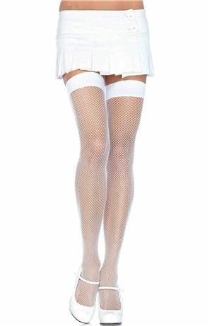 Λευκές Διχτυωτές Κάλτσες
