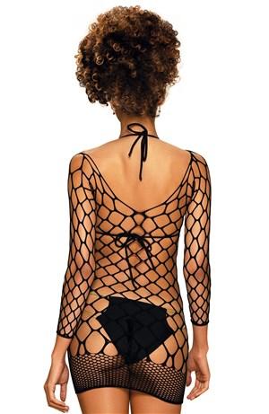 Διχτυωτό φόρεμα